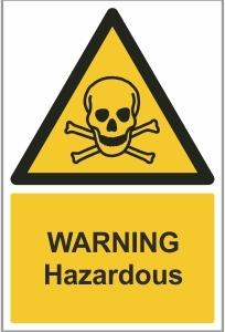 AGR005 - Warning, Hazardous