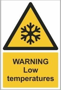 AGR009 - Warning, Low temperatures