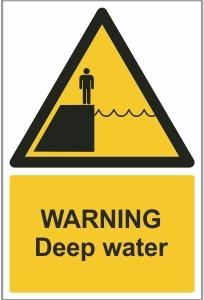 AGR019 - Warning, Deep water