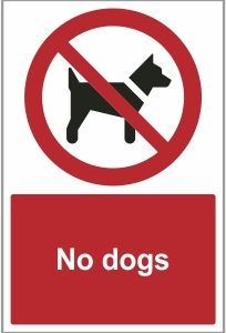 AGR028 - No dogs