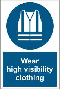 AGR031 - Wear high visibility clothing