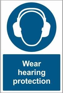 AGR034 - Wear hearing protection