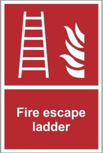 FIR010 - Fire escape ladder