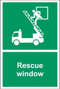 FIR018 - Rescue window