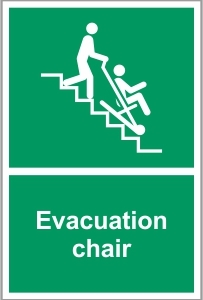 FIR020 - Evacuation chair