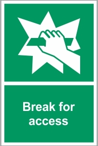 FIR021 - Break for access