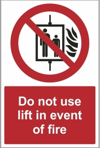 FIR022 - Do not use lift
