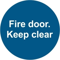 FIR040 - Fire door. Keep clear