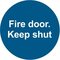 FIR041 - Fire door. Keep shut
