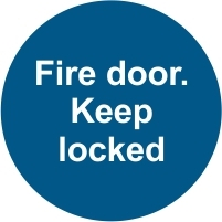 FIR042 - Fire door. Keep locked