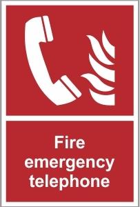 FIR009 - Fire emergency telephone