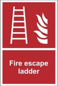 FIR010 - Fire escape ladder