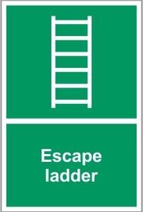 FIR017 - Escape ladder