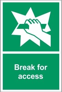 FIR021 - Break for access