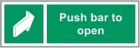 FIR036 - Push bar to open