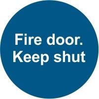 FIR041 - Fire door. Keep shut