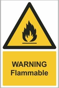 FOO007 - Warning, Flammable
