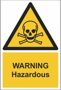 FOO009 - Warning, Hazardous