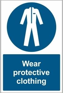 FOO028 - Wear protective clothing