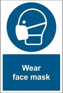 FOO029 - Wear face mask