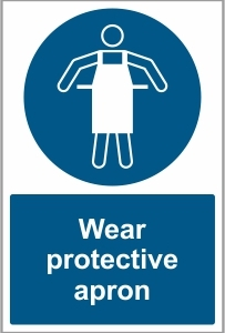 FOO030 - Wear protective apron