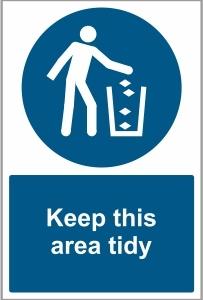 FOO031 - Keep this area tidy
