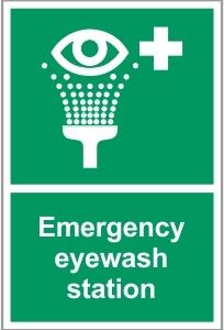 FOO040 - Emergency eyewash station