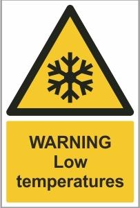 FOO011 - Warning, Low temperatures
