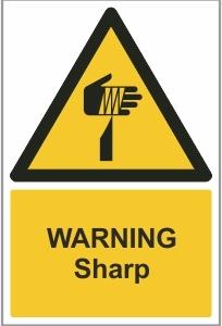 FOO013 - Warning, Sharp