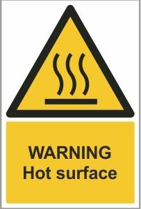 FOO014 - Warning, Hot Surface