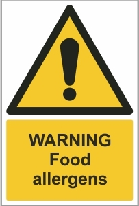 FOO017 - Warning, Food allergens