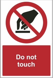 FOO021 - Do not touch