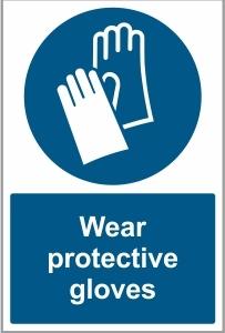 FOO026 - Wear protective gloves