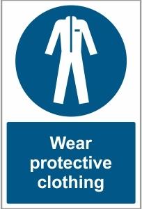 FOO028 - Wear protective clothing