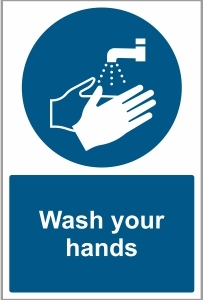 FOO032 - Wash your hands