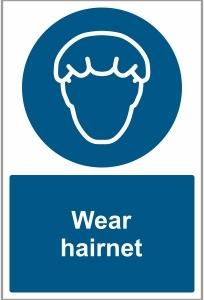 FOO033 - Wear hairnet