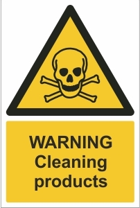 TOU003 - Warning, Cleaning products