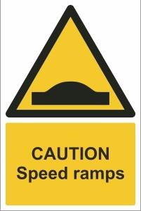 TOU011 - Caution, Speed ramps