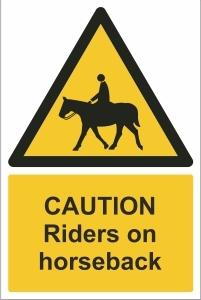TOU012 - Caution, Riders on horseback