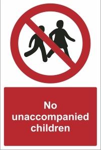 TOU019 - No unaccompanied children