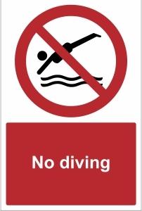 TOU023 - No diving