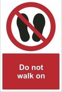 TOU024 - Do not walk on