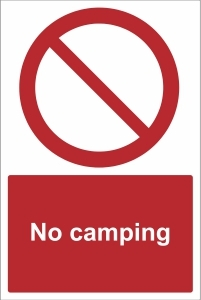TOU028 - No camping