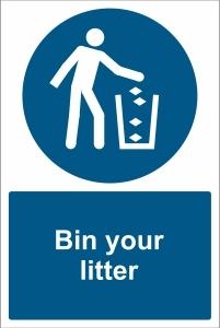 TOU034 - Bin your litter
