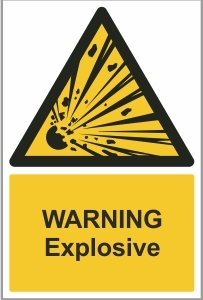 MED003 - Warning, Explosive