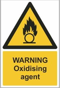 MED005 - Warning, Oxidising agent