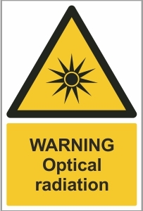 MED011 - Warning, Optical radiation