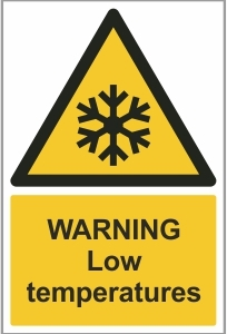 MED014 - Warning, Low temperatures