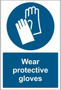 MED016 - Wear protective gloves