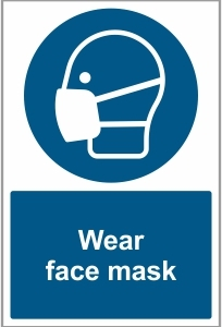 MED018 - Wear face mask